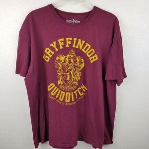 HARRY POTTER Gryffindor Quidditch Graphic Shirt